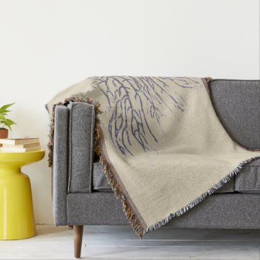 Beach Themed BluemCoral Naturals Throw