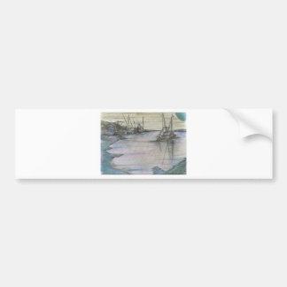 BlueMoon Coastline Bumper Stickers