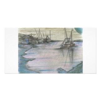 BlueMoon Coastline Card