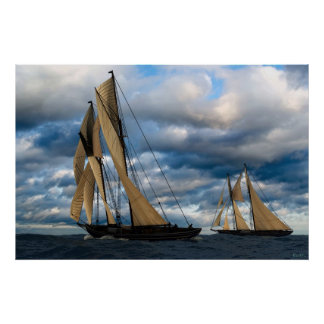 Bluenose Race I Posters