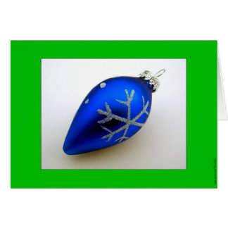 BlueOrnament Card