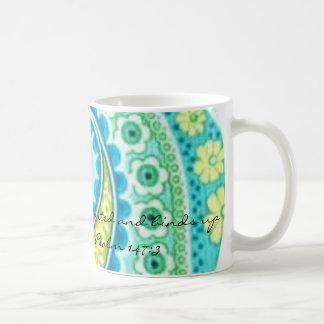 BluePaisley, He heals the broken hearted and bi... Classic White Coffee Mug