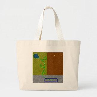 BluePlant Jumbo Tote Bag
