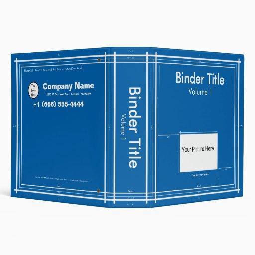 Blueprint Business 3 Ring Binders