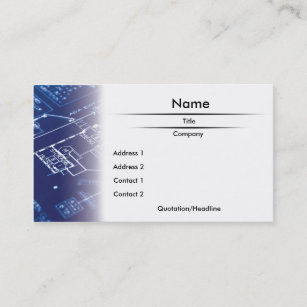 Blueprints business cards zazzle blueprint business card malvernweather Choice Image