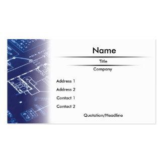 Blueprint Business Card