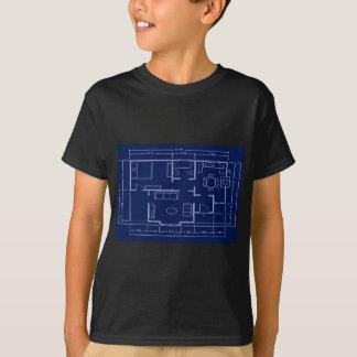 blueprint - house plan T-Shirt