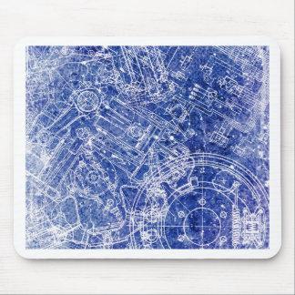 Blueprint Mouse Pad