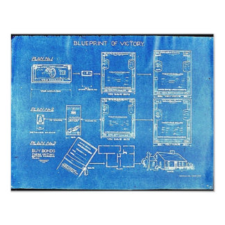 Blueprint Of Victory Card
