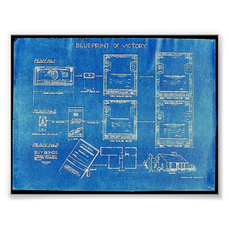 Blueprint Of Victory Poster