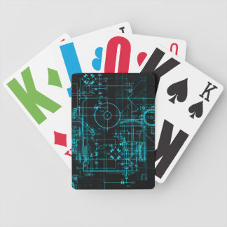 Blueprint Playing Cards