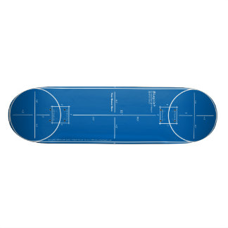 Blueprint Skateboard Deck