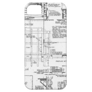 Blueprints iPhone 5 Case