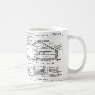 Blueprint coffee travel mugs zazzle blueprints coffee mug malvernweather Gallery