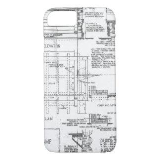 Architect iphone 87 cases covers zazzle blueprints iphone 87 case malvernweather Choice Image