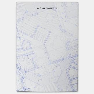 Blueprints Post-it Notes