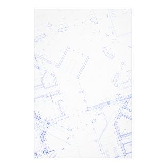 Blueprints Stationery Design