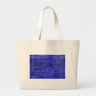 blueray - electronic circuit board canvas bag