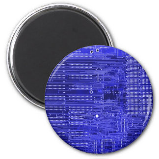 blueray - electronic circuit board magnet