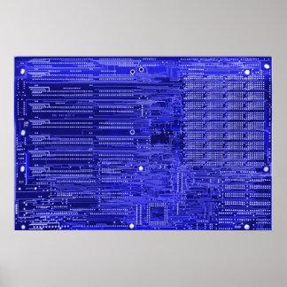 blueray - placa de circuito electrónica impresiones