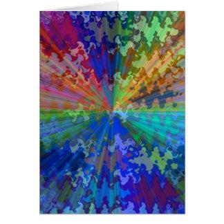 Blueray Spectrum : Circular Sparkle Breaker Card