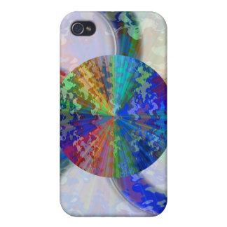 Blueray Spectrum Circular Sparkle Breaker iPhone 4 Cases