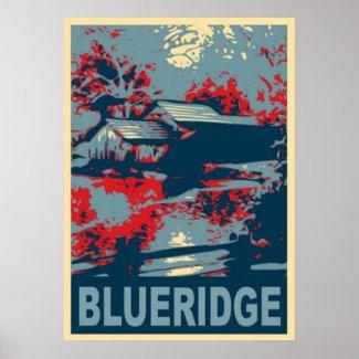 Blueridge Mountains VA, Mabry Mill Poster