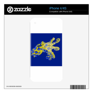 Bluering Octopus Skins For iPhone 4S