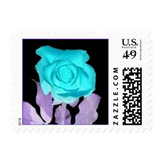 BlueRose Postage Stamp