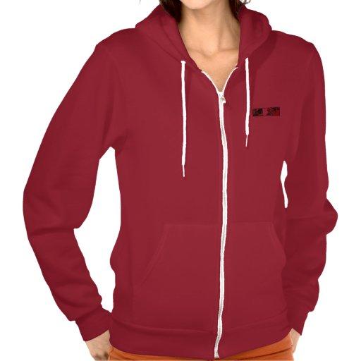 Blues411 Women's Flex Fleece Zip Hoodie