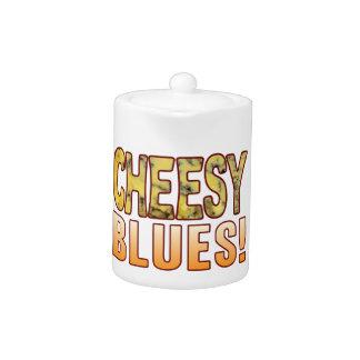 Blues Blue Cheese Teapot