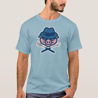 Blues Bluegrass BBQ pig T-Shirt