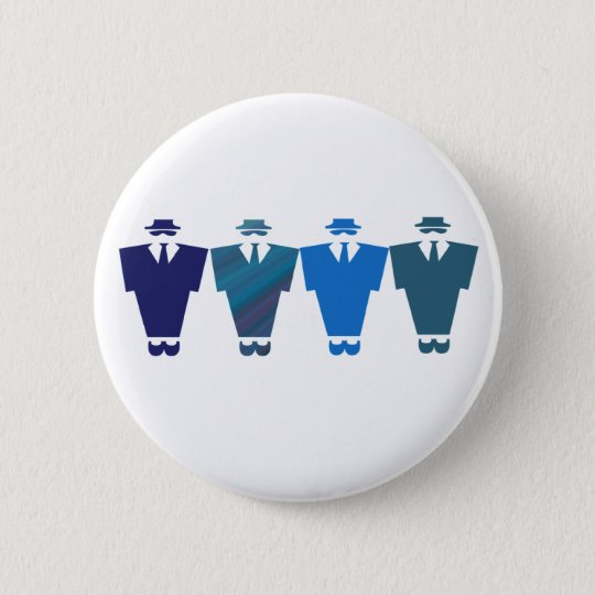 Blues Brothers Button Badge