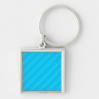 BLUEs CANDY CANE STRIPES WALLPAPER BACKGROUND Key Chain
