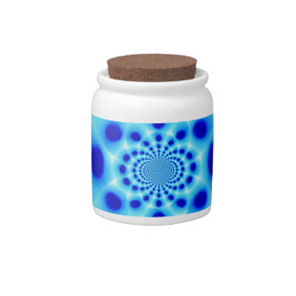 Blues Candy Jars