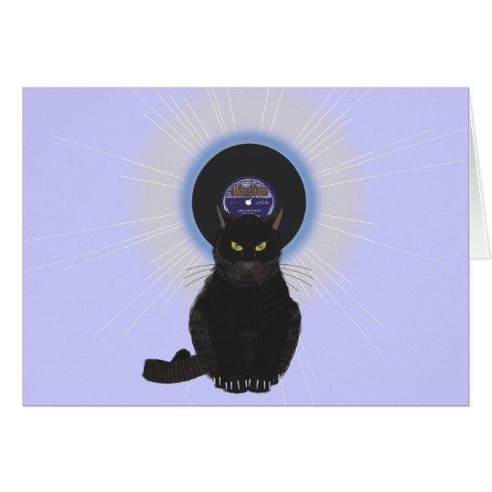 Blues Cat Card