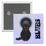 Blues Cat Pinback Button