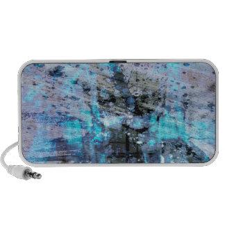 blues colors war iPod speaker