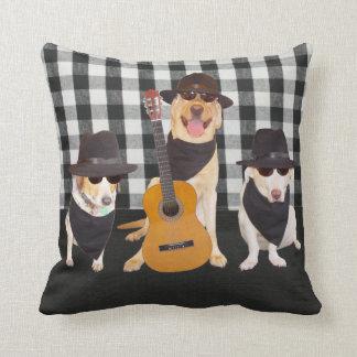 Blues Dogs American MoJo Pillow