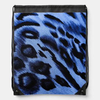 blues drawstring backpack