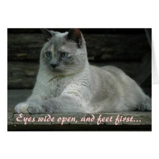 Blue's eyes card