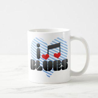 Blues fan coffee mug