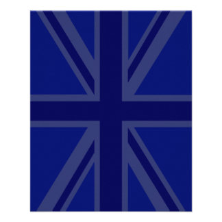Blues for a Union Jack British Flag Flyer