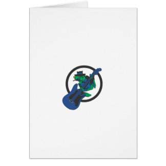Blues Frog Card