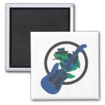 Blues Frog Fridge Magnets