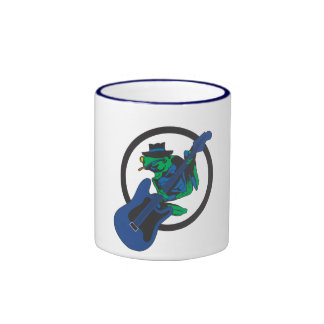 Blues Frog Ringer Coffee Mug