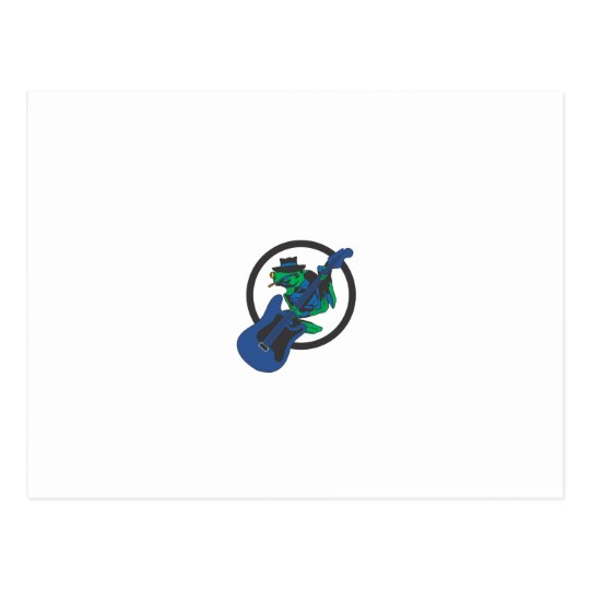 Blues Frog Postcard