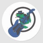 Blues Frog Stickers