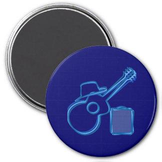 Blues Guitar Magnet
