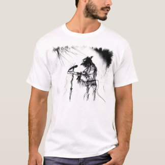 Blues Guitar Player and Band on Stage T-Shirt